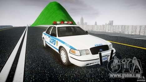 Ford Crown Victoria Police Department 2008 LCPD pour GTA 4 est un droit