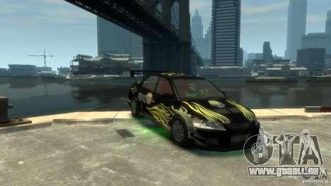 Mitsubishi EVO IX für GTA 4 linke Ansicht