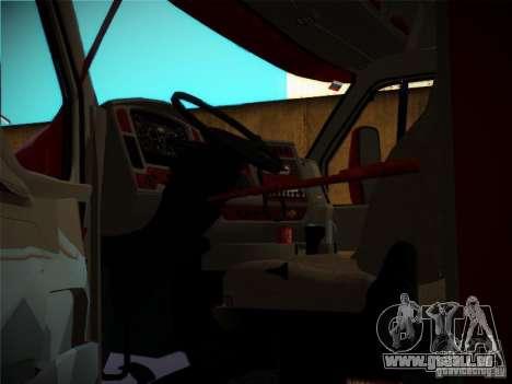 Kenworth T2000 v 2.5 für GTA San Andreas obere Ansicht