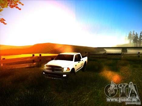Dodge Ram Heavy Duty 2500 pour GTA San Andreas vue de côté