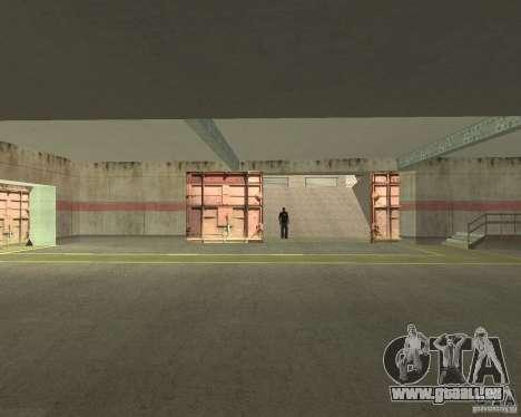 Porte pneumatique dans la zone 69 pour GTA San Andreas quatrième écran