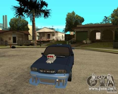 Dacia 1310 tuning pour GTA San Andreas vue arrière