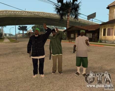 Ballasy's Grove für GTA San Andreas zweiten Screenshot