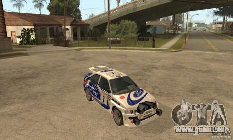 Ford Escort RS Cosworth pour GTA San Andreas moteur