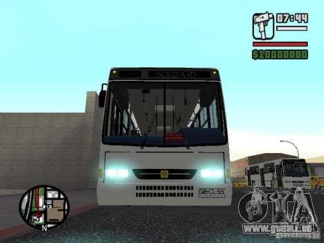 Busscar Urbanus SS Volvo B10M pour GTA San Andreas vue de côté