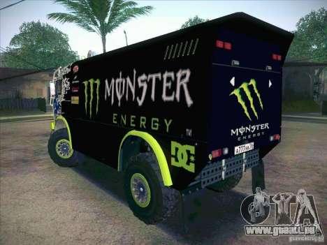 Master de KAMAZ 4911 Monster Energy pour GTA San Andreas laissé vue