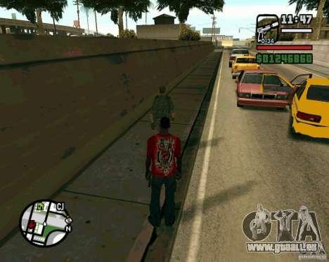 Soldats irakiens pour GTA San Andreas quatrième écran