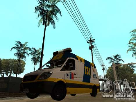 Mercedes-Benz Sprinter Ambulancia für GTA San Andreas