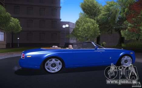 Rolls-Royce Phantom Drophead Coupe pour GTA San Andreas vue de droite