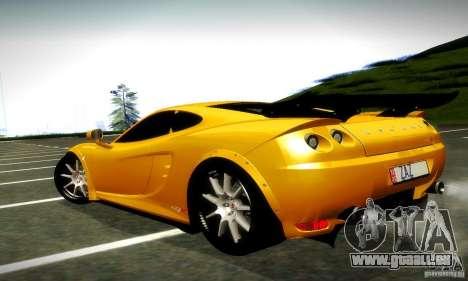 Ascari KZ1R Limited Edition für GTA San Andreas zurück linke Ansicht