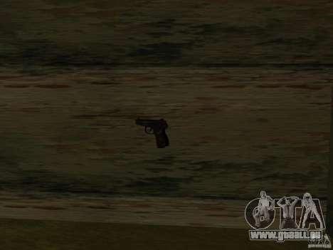 Pak armes domestiques pour GTA San Andreas neuvième écran