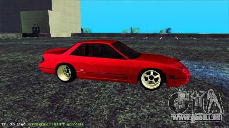 Nissan Onivia pour GTA San Andreas laissé vue