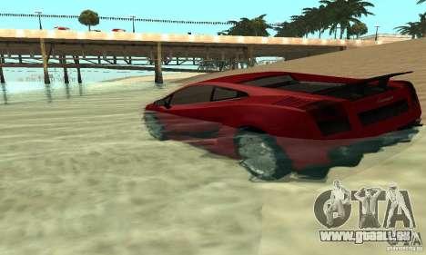 0,075 ENBSeries (juste de l'eau) pour GTA San Andreas deuxième écran