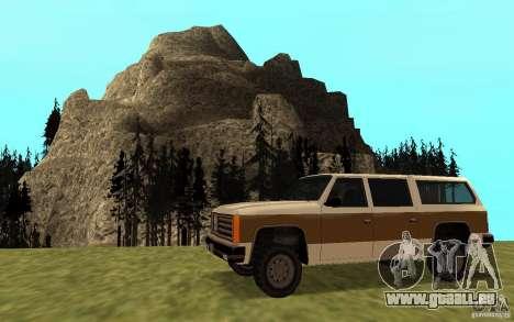 Eine zivile FBI Rancher für GTA San Andreas linke Ansicht