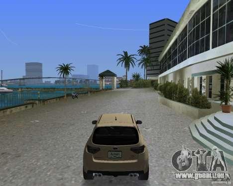 Subaru Impreza WRX STI für GTA Vice City linke Ansicht