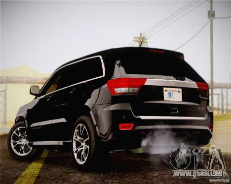 Jeep Grand Cherokee SRT-8 2012 für GTA San Andreas linke Ansicht