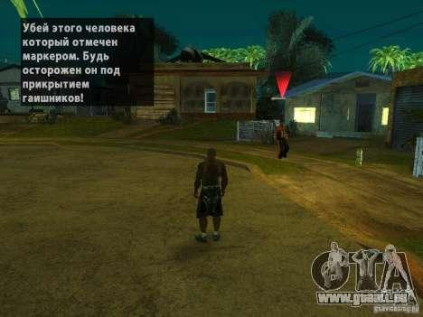 Killer Mod pour GTA San Andreas deuxième écran