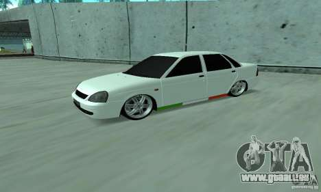 Lada Priora Italia pour GTA San Andreas