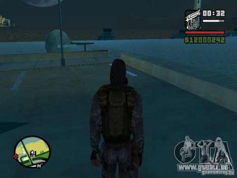 Stalker Söldner in der neuen kombeze für GTA San Andreas dritten Screenshot