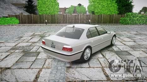 BMW 740i (E38) style 32 für GTA 4 hinten links Ansicht