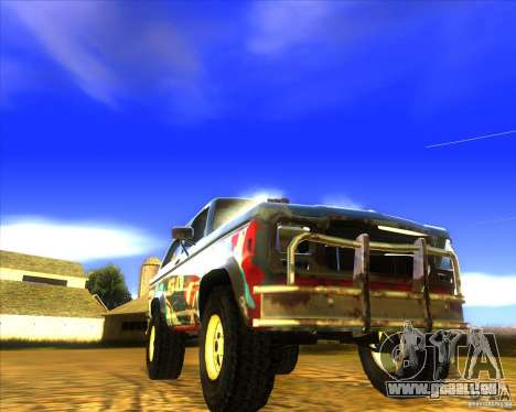 Blazer XL FlatOut2 für GTA San Andreas obere Ansicht
