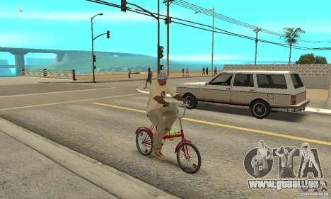 Vélo de Kama pour GTA San Andreas vue de droite