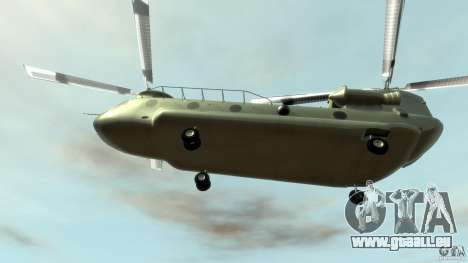 CH-47 für GTA 4 Seitenansicht