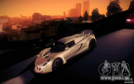 Hennessey Venom GT 2010 V1.0 für GTA San Andreas Unteransicht