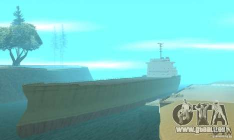 The G60 Ferry boat pour GTA San Andreas