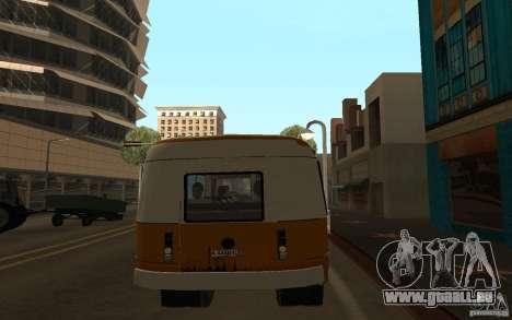 KAVZ 3976 KAVZOZIL für GTA San Andreas rechten Ansicht