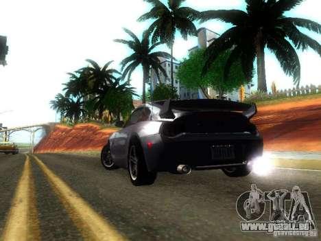 BMW Z4 M 07 für GTA San Andreas zurück linke Ansicht