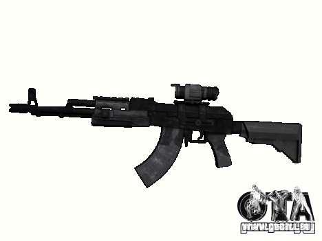 Armes de la COD MW 2 pour GTA San Andreas sixième écran