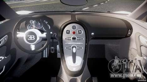 Bugatti Veyron 16.4 v1 pour GTA 4 est un droit