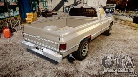 Chevrolet Silverado 1977 für GTA 4 Seitenansicht