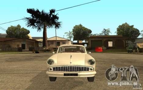 Moskvitch 423 m Ambulance pour GTA San Andreas vue de droite