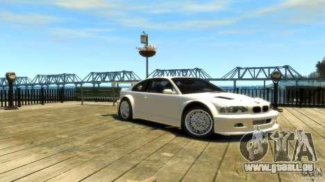 BMW E46 M3 GTR Sport pour GTA 4 est un droit