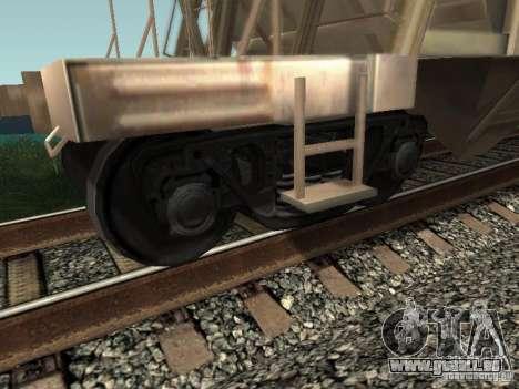 Trémie de ciment pour GTA San Andreas vue de droite