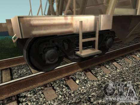 Zement-Trichter für GTA San Andreas rechten Ansicht