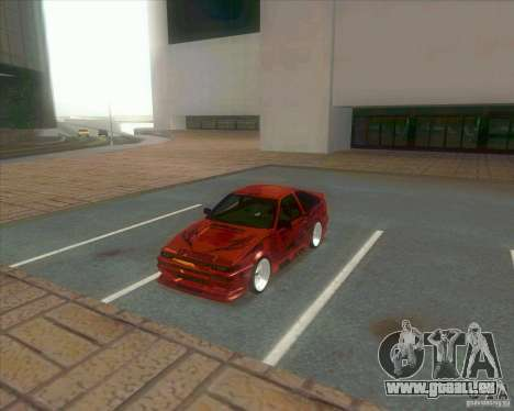 Ae86 tuned by Xavier für GTA San Andreas