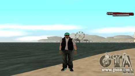 Skin Pack The Rifa Gang HD pour GTA San Andreas dixième écran