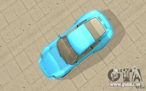 Comète de GTA 4 pour GTA San Andreas vue de droite