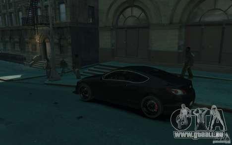 Hyundai Genesis HKS v1.1 für GTA 4 linke Ansicht