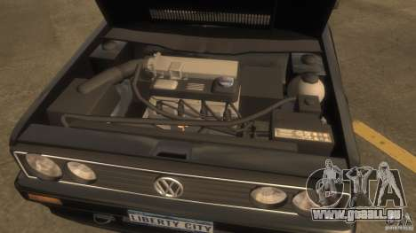 Volkswagen Golf pour GTA 4 est un droit