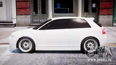 Audi A3 Tuning pour GTA 4 Vue arrière de la gauche