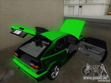 Volkswagen Corrado 1995 pour GTA San Andreas salon
