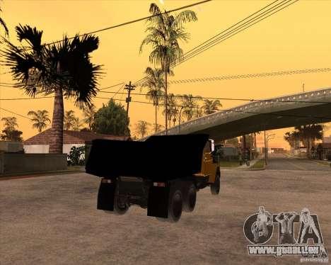 ZIL MMZ 4516 pour GTA San Andreas sur la vue arrière gauche