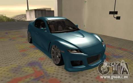 Mazda RX8 VIP pour GTA San Andreas laissé vue