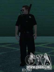 Nouveaux skins SAPD pour GTA San Andreas deuxième écran