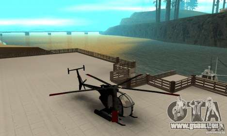 AH-6C Little Bird für GTA San Andreas