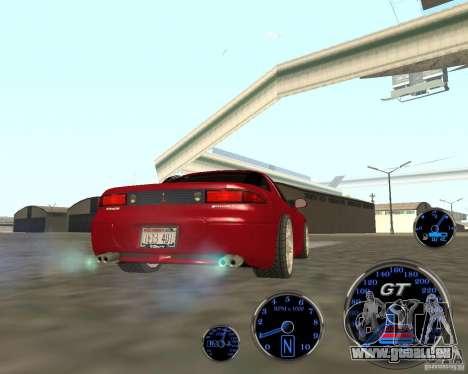 Mitsubishi 3000gt für GTA San Andreas zurück linke Ansicht